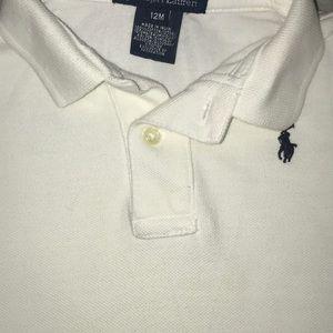 Ralph Lauren short sleeve polo 12 months